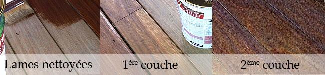 Saturer une terrasse bois