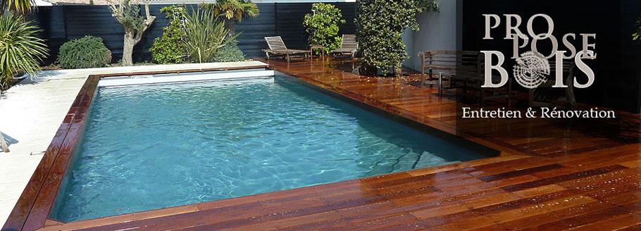 Entretien terrasse bois par Proposebois
