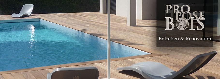 Nettoyage terrasse bois exotique